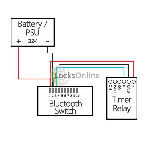 relay switch bluetooth