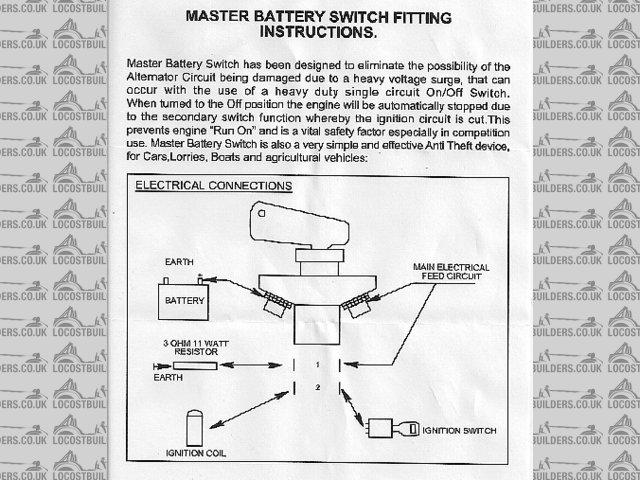 fia battery master switch wiring diagram