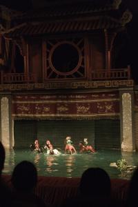 Teatro de las Marionetas en el agua