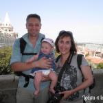 En el Bastión de los Pescadores en Budapest