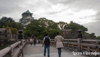 El Castillo de Osaka y Dotonbori con jet lag