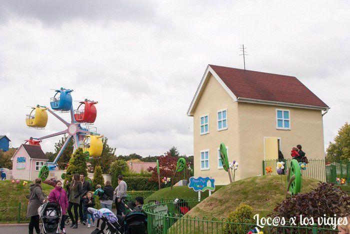 La casa de Peppa Pig y el Helicóptero de la Señora Rabbit
