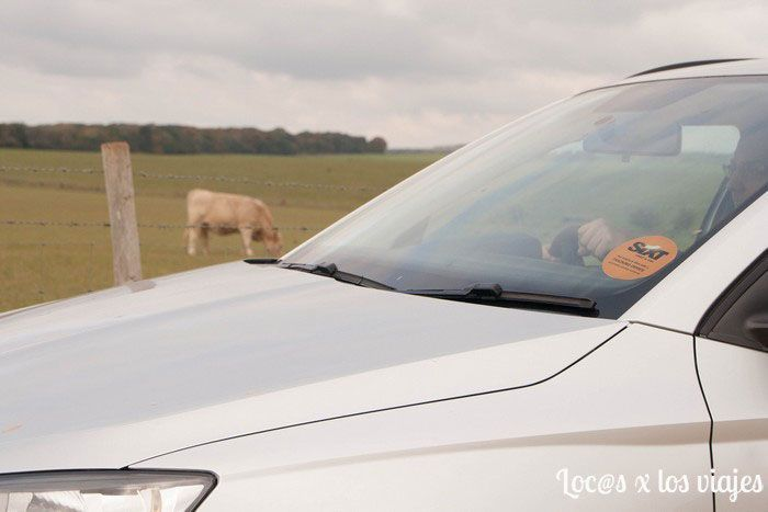 En la campiña inglesa con el coche de Sixt