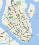 Historic Downtown Charleston SC Map