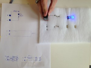 working out circuits with different types of LEDs