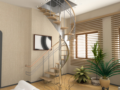 Spiral Staircase For Loft Conversions