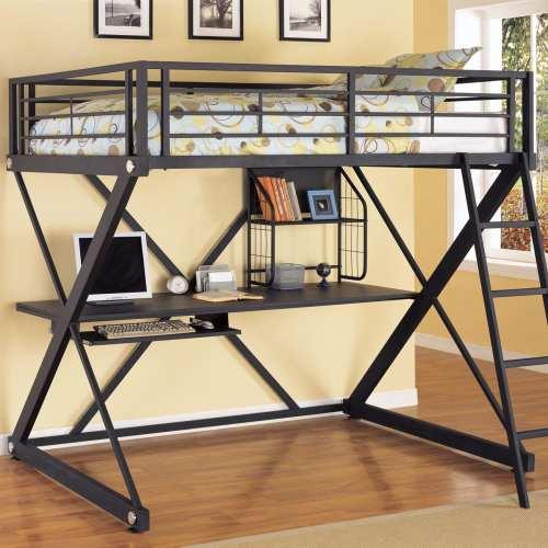 Medium Of Bunk Bed Desk