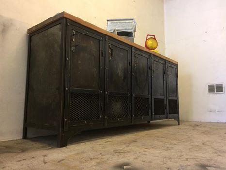 bahut industriel 5 portes