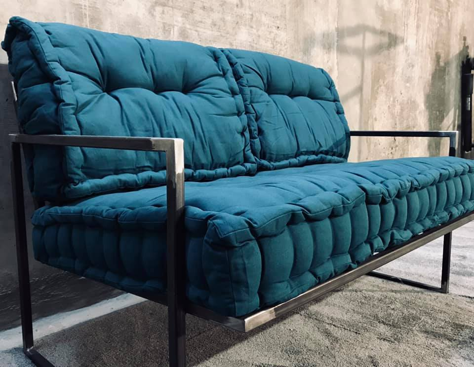 Canapé loft industriel