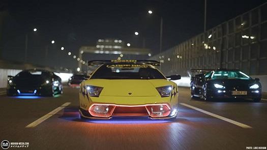 Car Phone Wallpaper Lambo Japonya Da Yakuza Nın Kullandığı Modifiye Lamborghini Ler