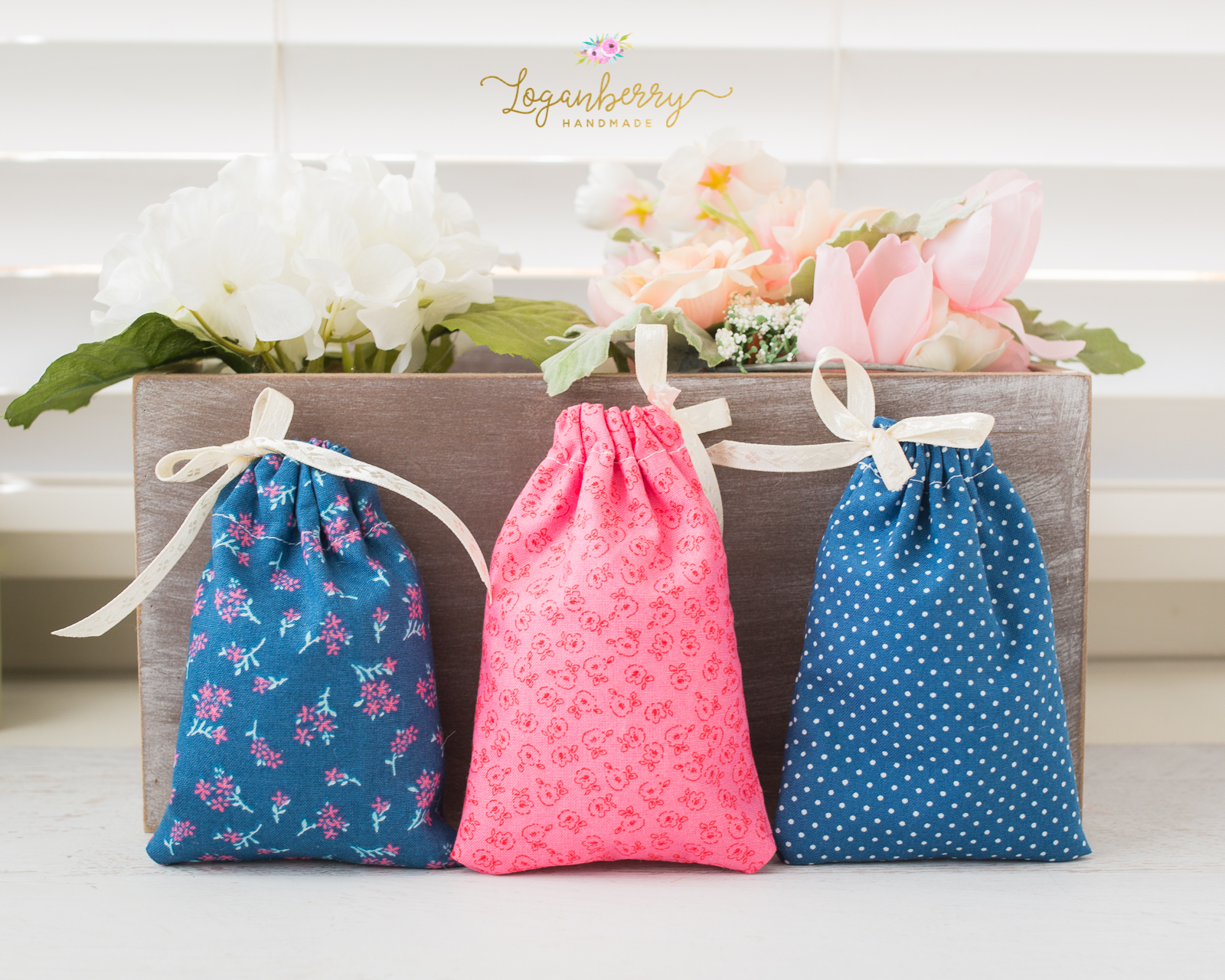 5 Minute Gift Bags Loganberry Handmade