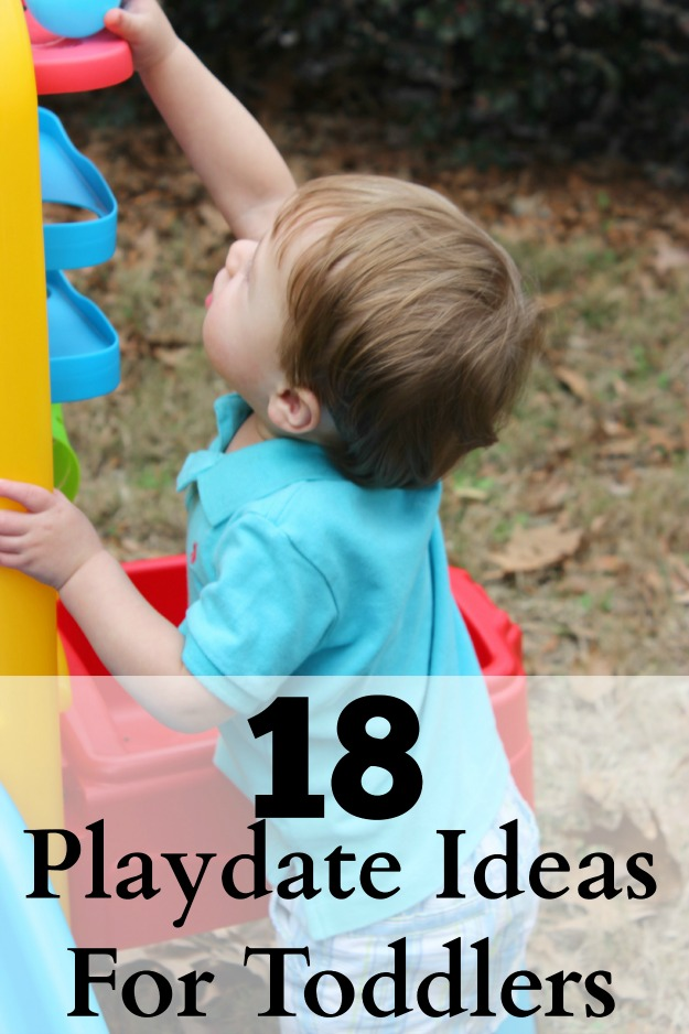 Playdate Ideas for Toddlers