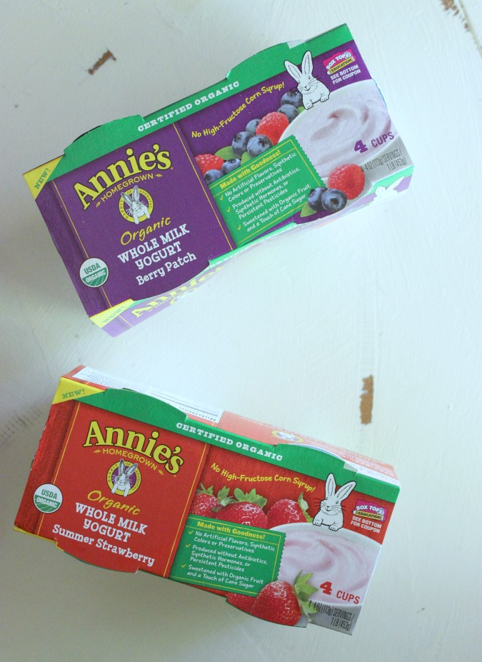 Annie's Organic Whole Milk Yogurt
