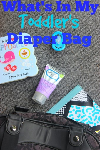 What's In My Toddler's Diaper Bag
