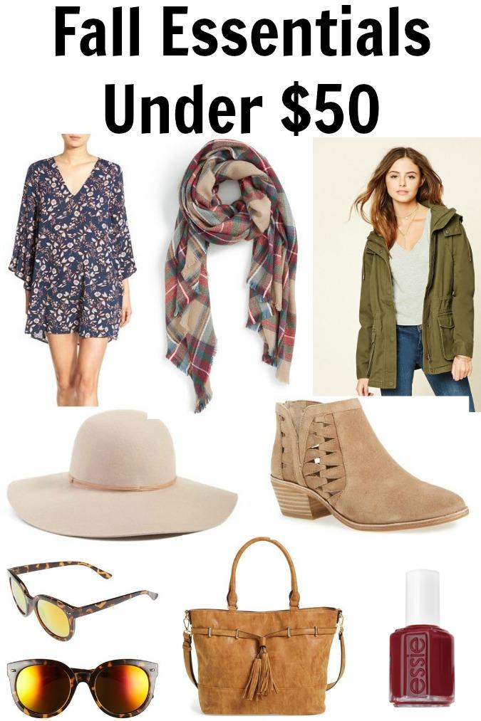 Fall Essentials Under $50