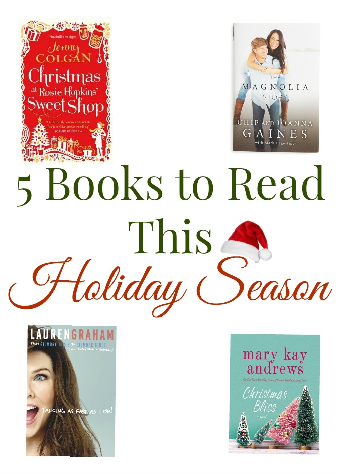 5 Books to Read This holiday Season