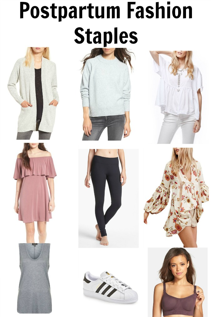 Postpartum Fashion Staples
