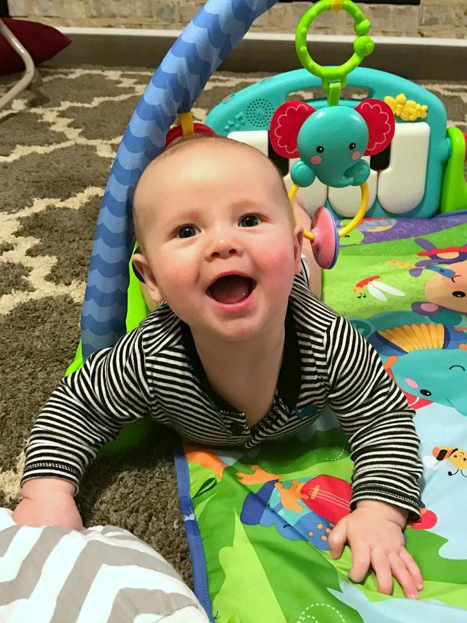 Weston 4 Months LoganCan.com