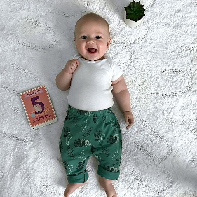 Weston five months