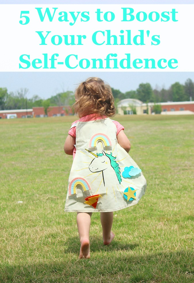 5 Ways to Boost Your Child's Self-Confidence