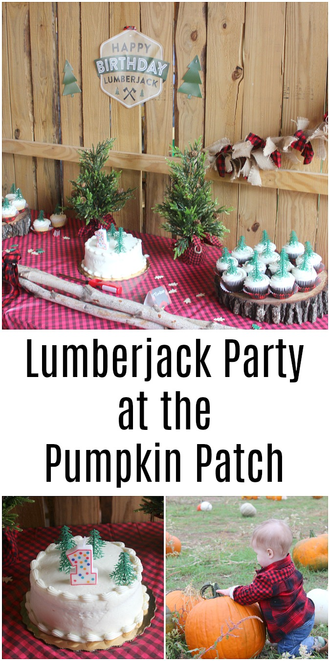 Lumberjack Party at the Pumpkin Patch