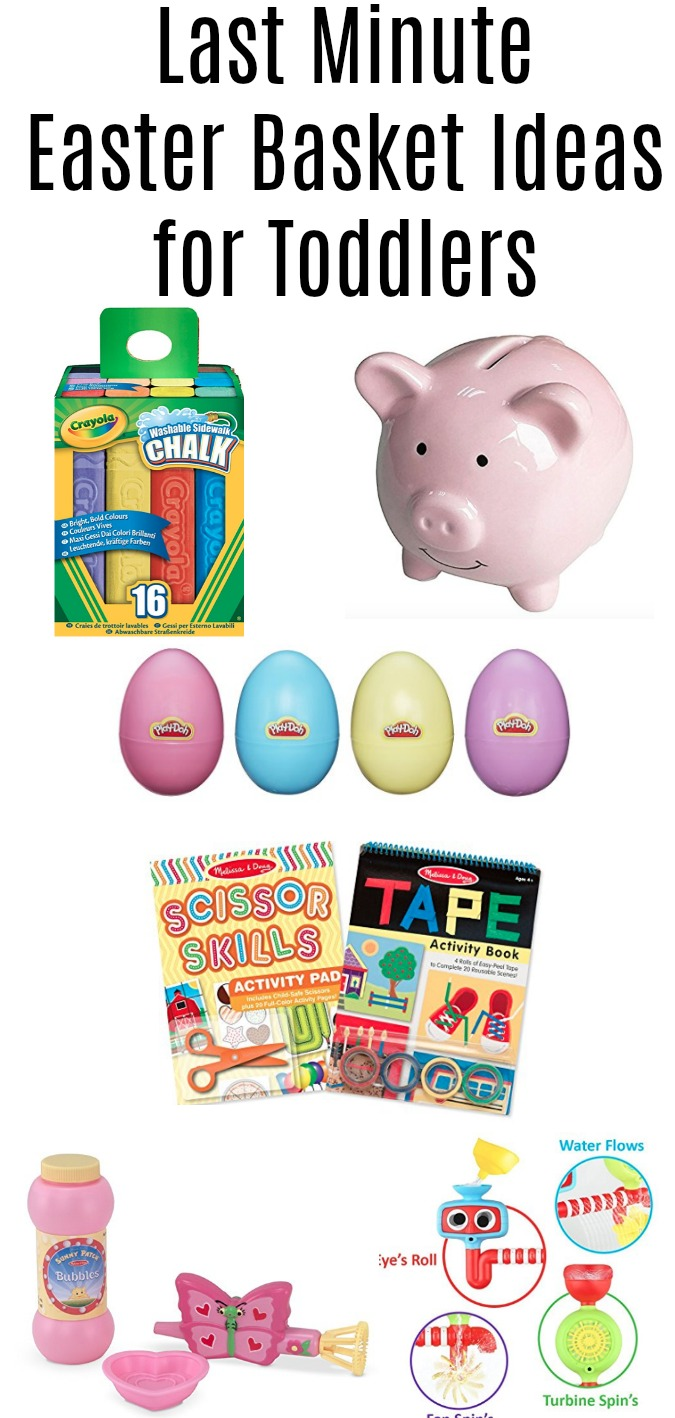 Last Minute Easter Basket Ideas for Toddlers