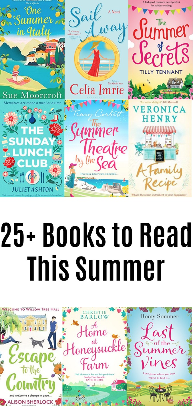25 Books to Read This Summer LoganCan.com