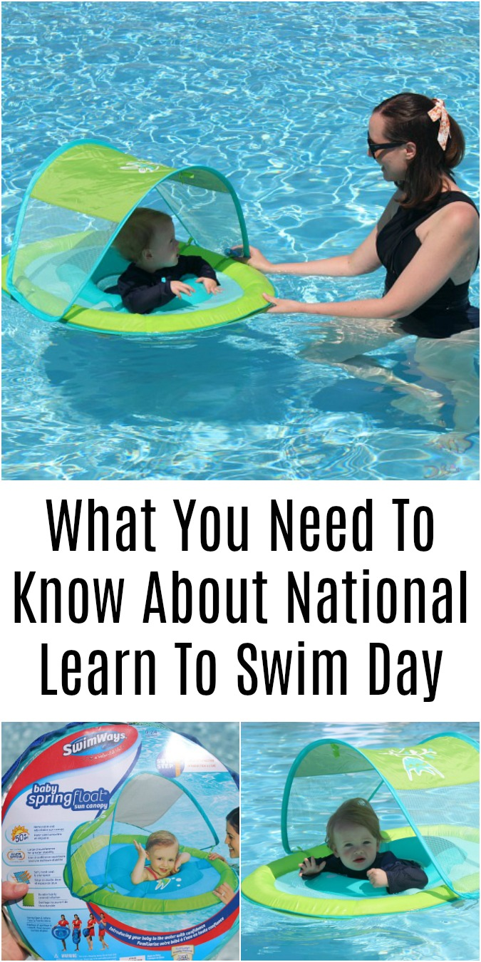 National Learn to Swim Day Logan Can
