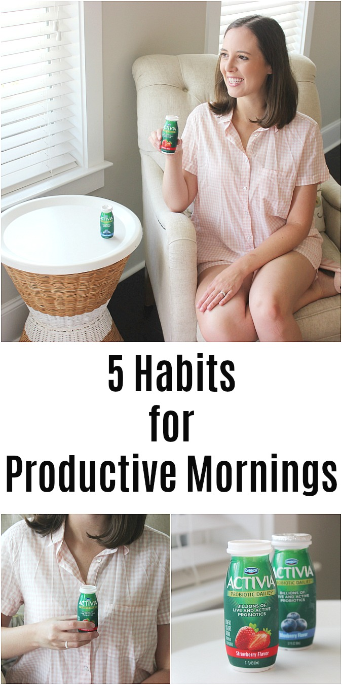 5 Habits for Productive Mornings by Logan Can