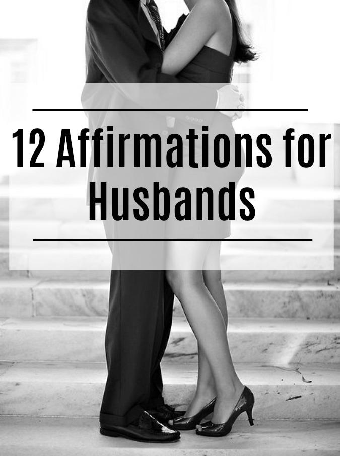 Words of Affirmation for Husbands