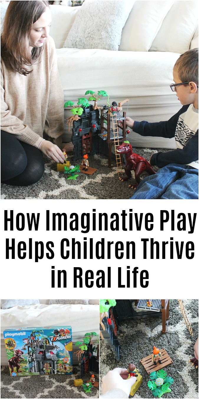 How Imaginative Play Helps Children Thrive in Real Life