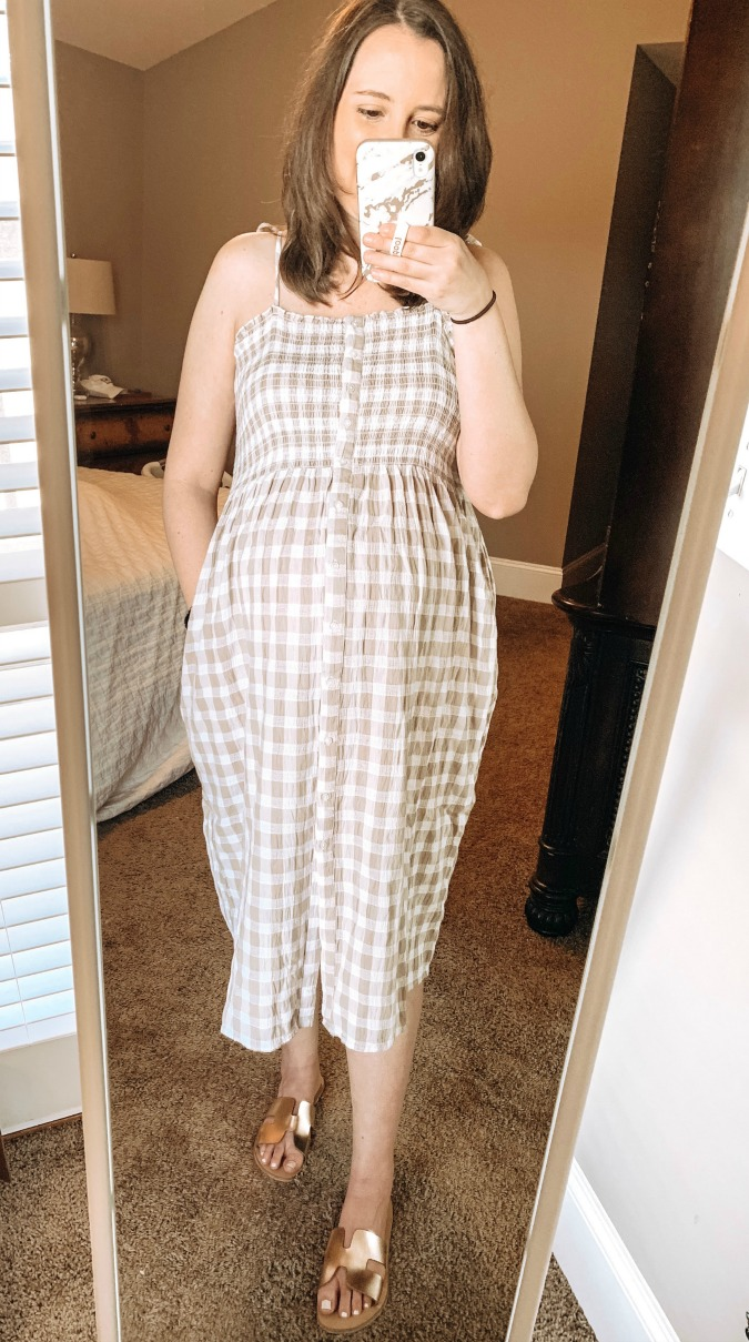 American Eagle Try On   Spring Dress