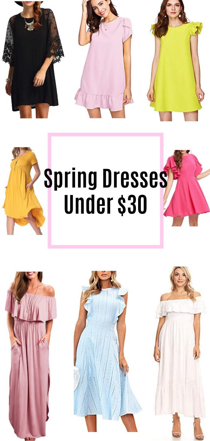 Spring Dresses Under $30