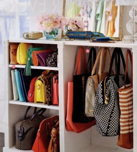 organizando bolsas
