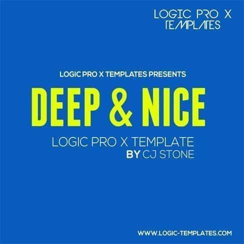 Deep  Nice Logic Pro X Template - Nice Templates