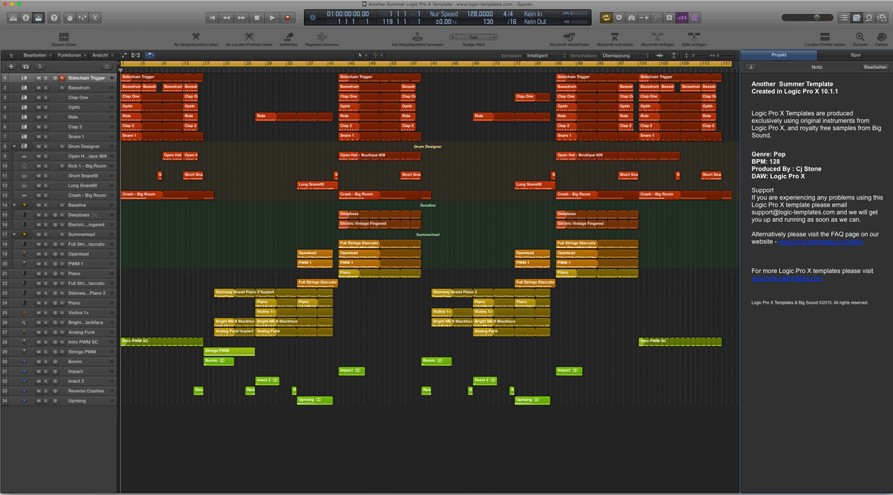 Amazing another summer logic pro x template ivoiregion another summer logic pro x template maxwellsz