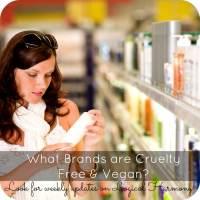Cruelty Free & Vegan Brand List