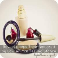 Revlon Keeps Their Required by Law Animal Testing Stance