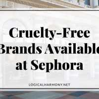 Cruelty Free Brands Available at Sephora