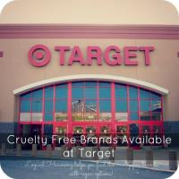 Cruelty Free Brands Available at Target