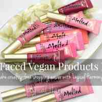 Too Faced Vegan Products List