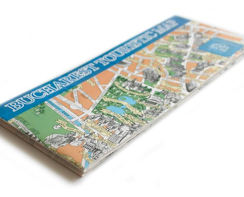 Bucharest Touristic Map - cover