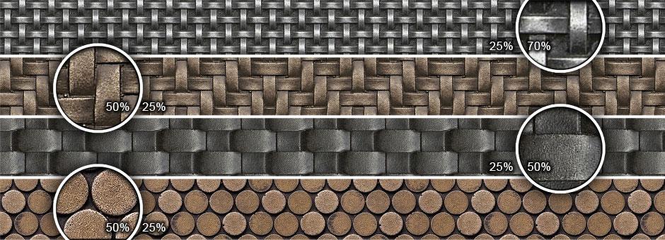 metal patterns