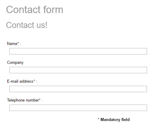 Don\u0027t Require a Phone Number in Your Contact Forms if You Want More