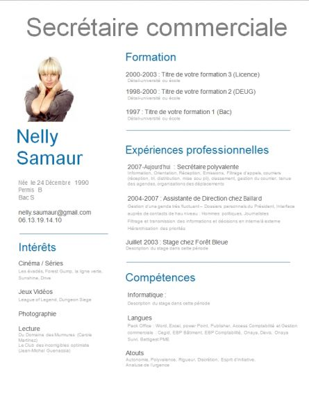 Free CV templates to download
