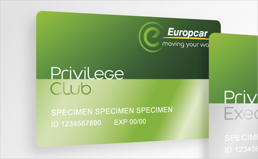 Brandimage Designs New Loyalty Cards for Europcar - Logo Designer - club card design