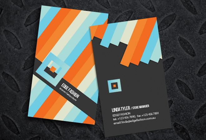Business Cards Modern Design Fashion Design Business Cards Business