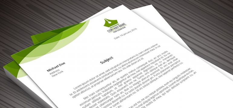 Business Letterheads Creating a Letterhead for Your Brand - business letterheads