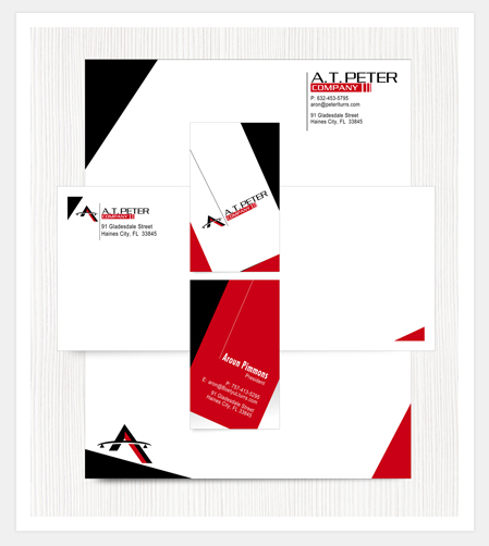 Letterhead, Business Card, Envelope Design Portfolio - Stationery