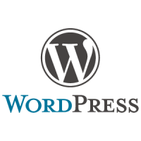 WordPress logo vector